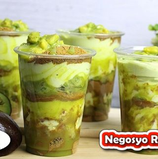 Negosyo Recipe - Avocado Graham Float Supreme