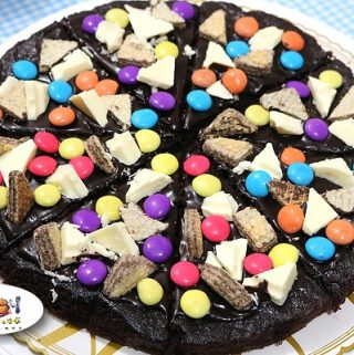 Brownie Pizza Recipe
