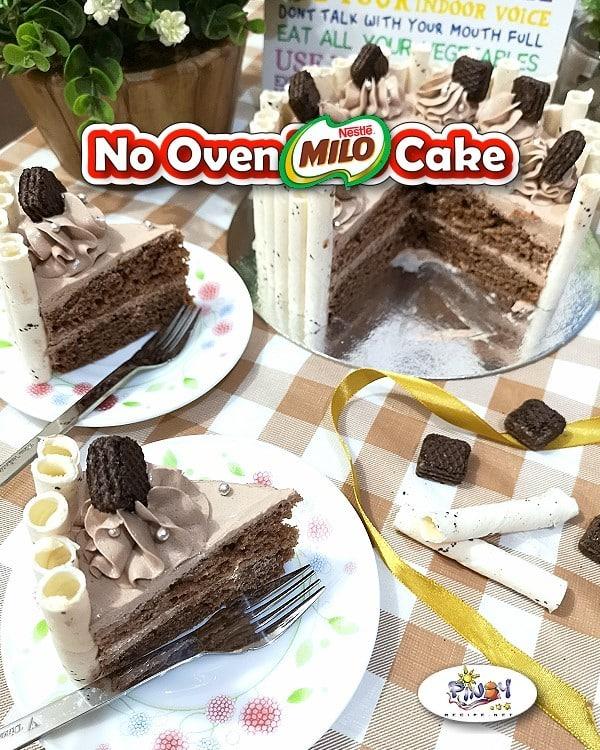Milo Cake Recipe No Oven