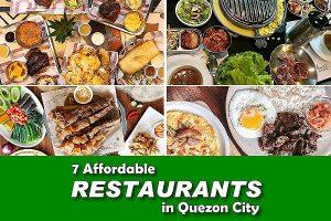 7 Affordable Restaurants in Quezon City
