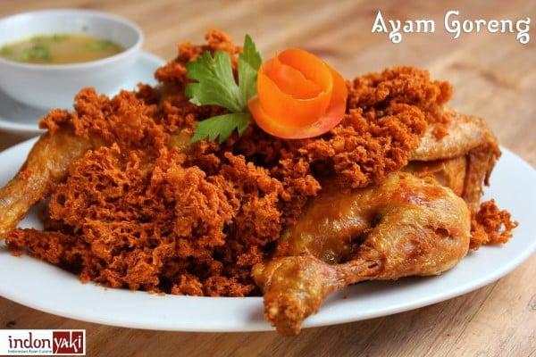 Ayam Goreng at IndonYaki