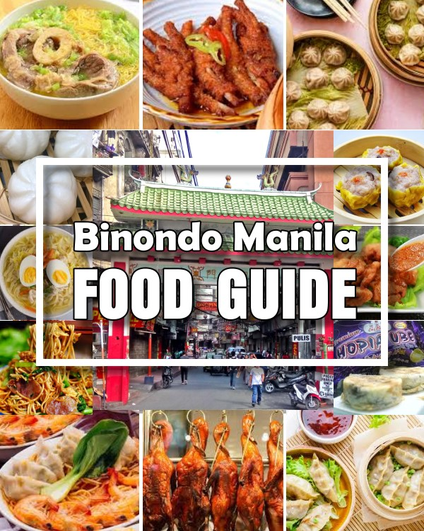 Binondo Manila Food Guide - Binondo is known as one of the oldest Chinatowns in the world where you can find the best Chinese restaurants and food stalls.