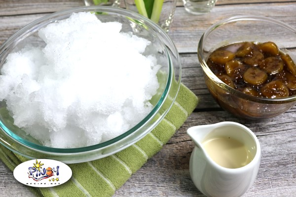 Saging Con Yelo Ingredients
