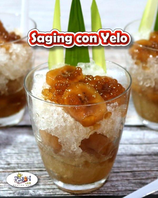Saging Con Yelo
