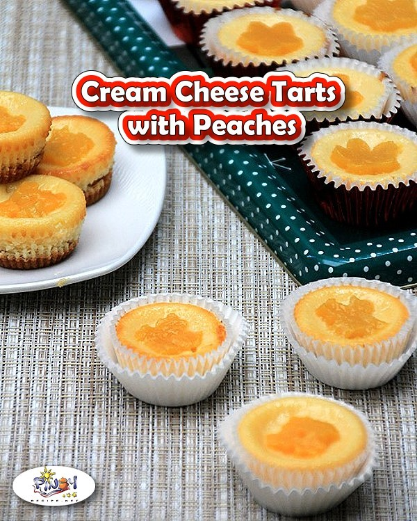 Try this awesomely delicious Cream Cheese Tarts with Peaches Recipe. The individual tarts have cream cheese filling and topped with nutritious peaches.