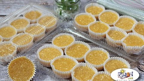 Custard Macaroons Recipe