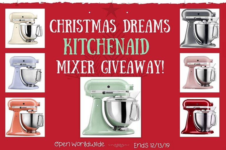 Christmas Dreams KitchenAid Mixer Giveaway