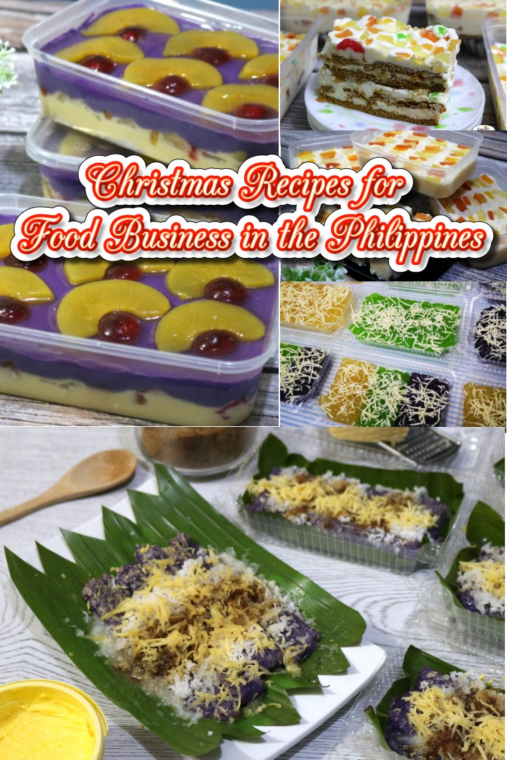 Christmas Recipes for Food Business in the Philippines