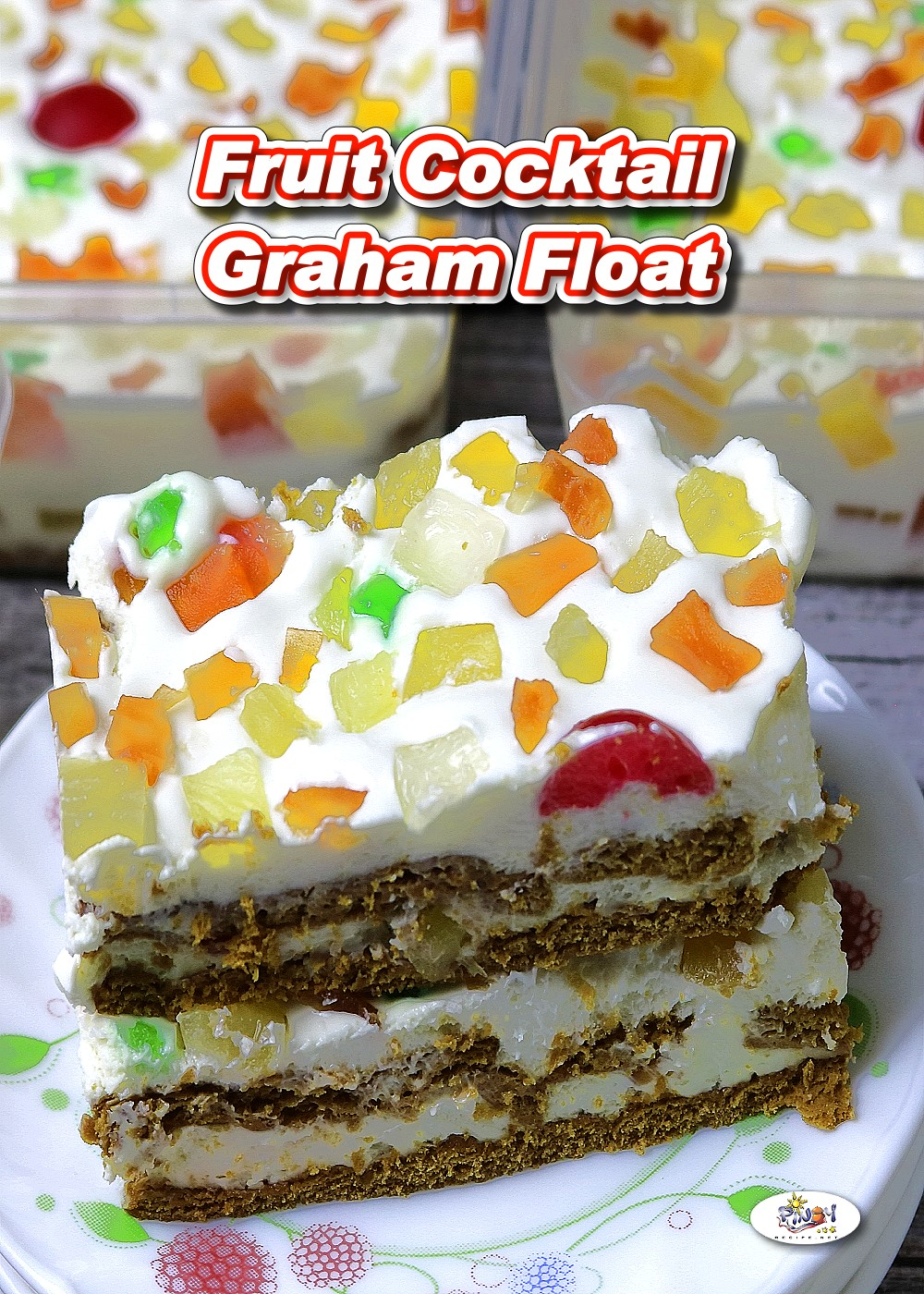Fruit Cocktail Graham Float Recipe