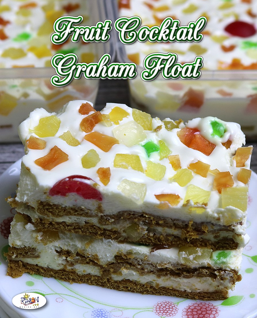 Fruit Cocktail Graham Float Recipe