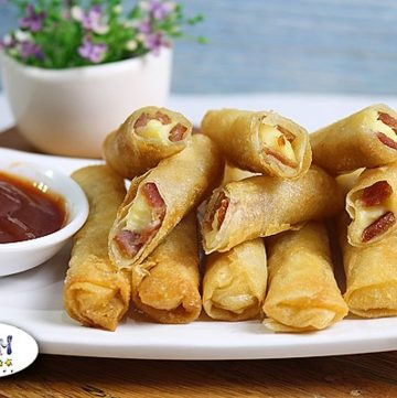 Cheese Sticks with Ham Recipe