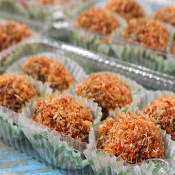 Choco Butternut Palitaw Balls