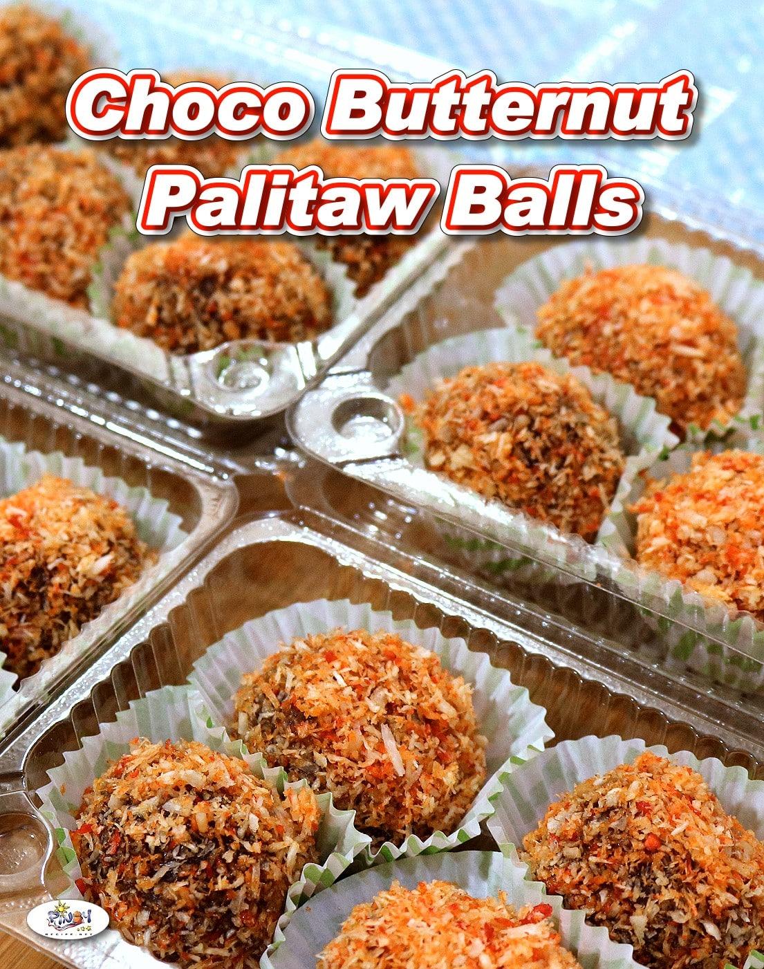 Choco Butternut Palitaw Balls Pang Negosyo Recipe