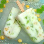 Buko Pandan Yogurt Popsicle Recipe