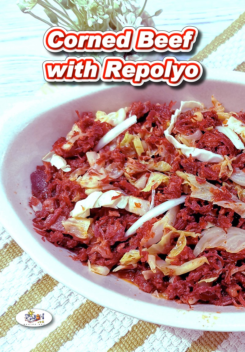 Ginisang Corned Beef with Repolyo Recipe
