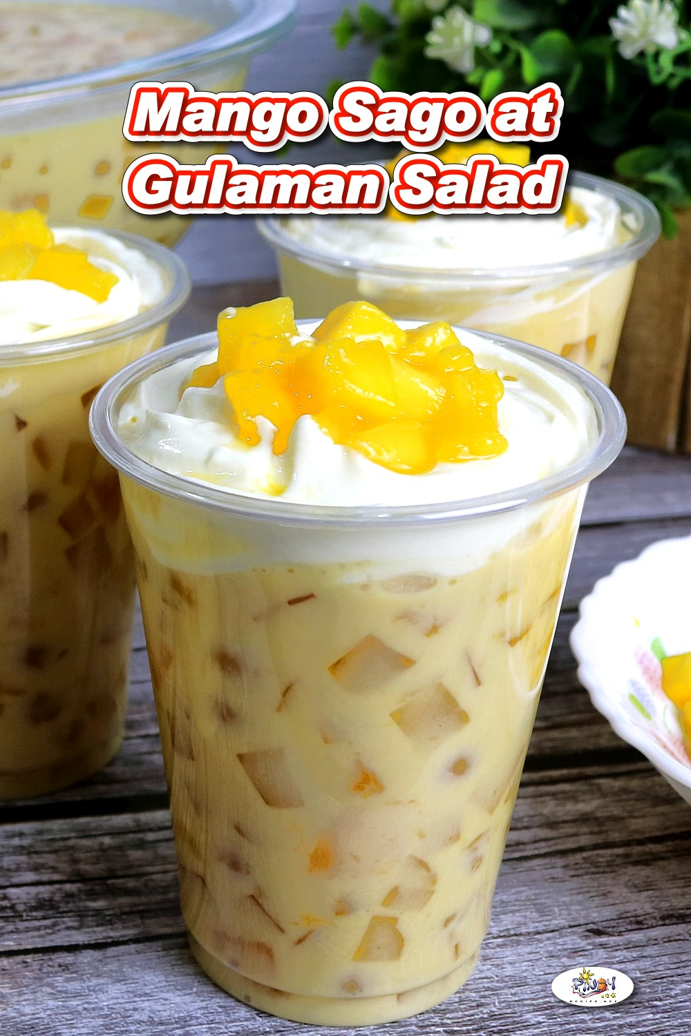 Mango Sago at Gulaman Salad