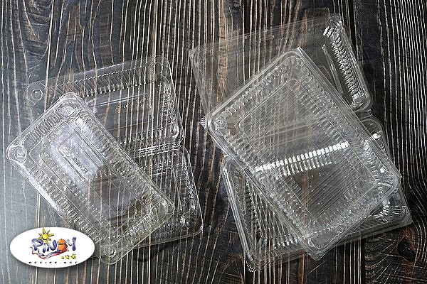 Clear View Plastic Containers for Business