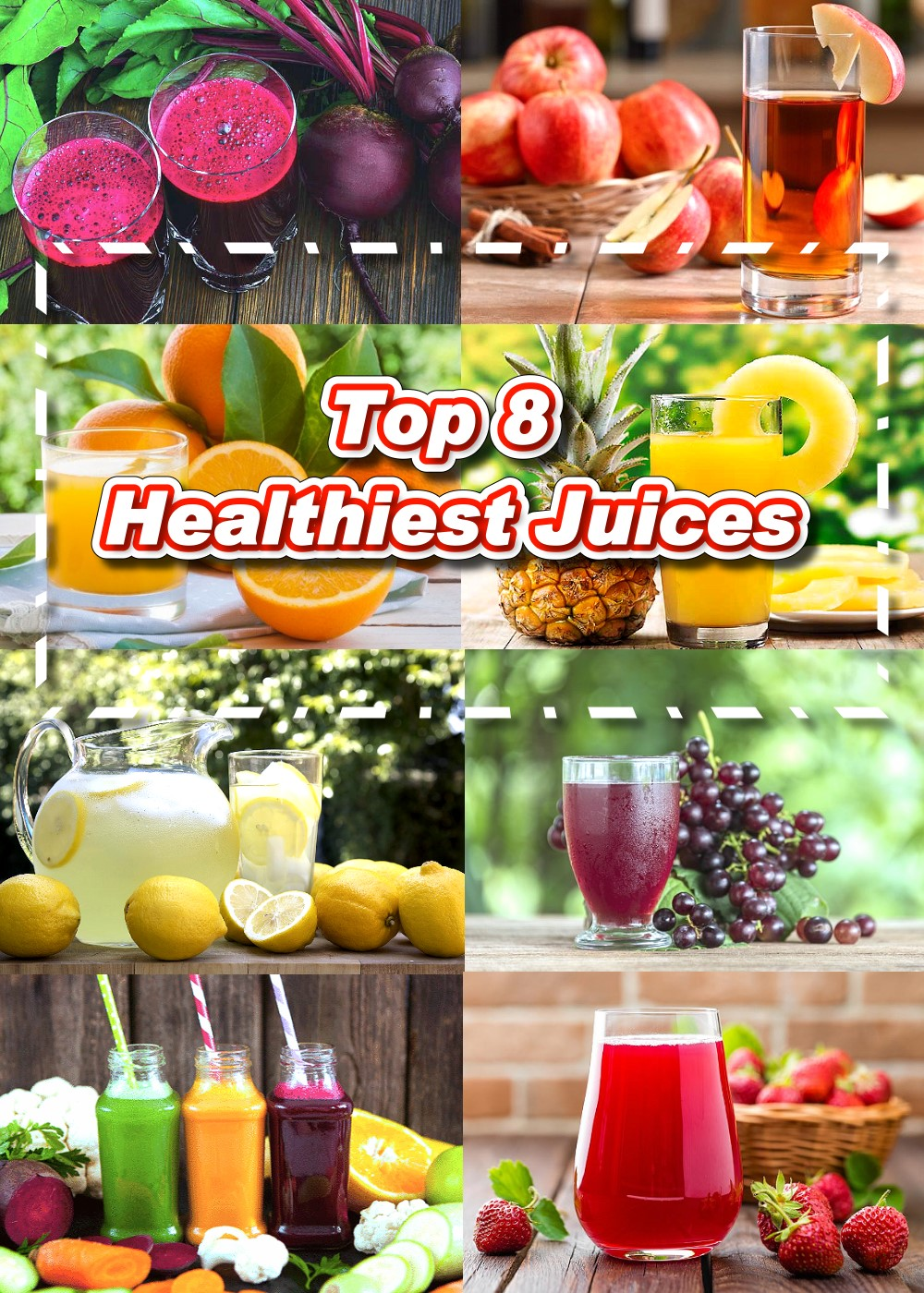 Top 8 Healthiest Juices you must drink daily