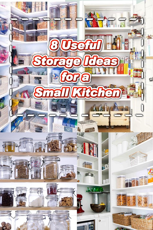 8 Useful Storage Ideas - Small Kitchen