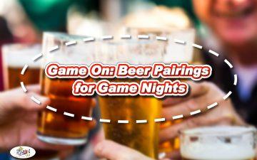 Game On - Beer Pairings
