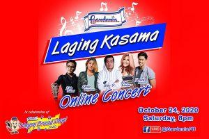 Gardenia Laging Kasama Online Concert