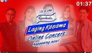 Gardenia Laging Kasama Virtual Concert