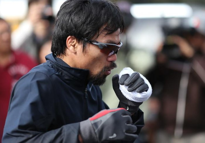 Inside The Diet Of Manny Pacquiao