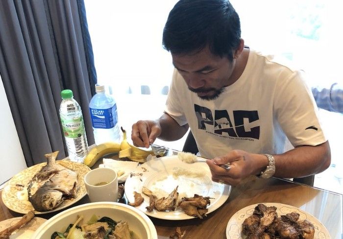 The Diet Of Manny Pacquiao