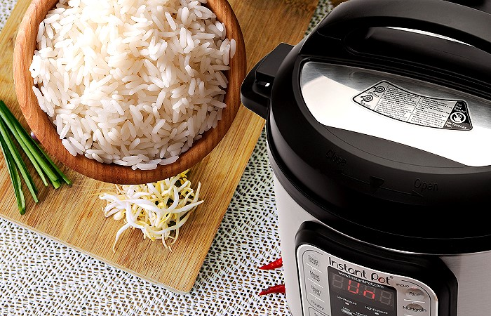 Instant Pot Duo is your Rice Cooker
