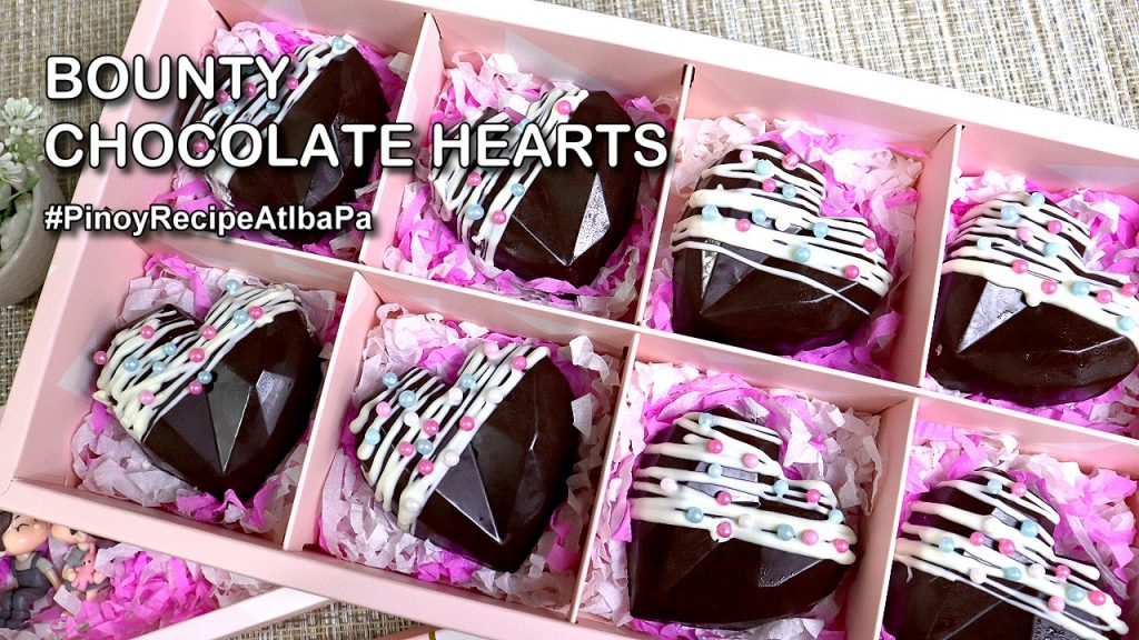 Bounty Chocolate Hearts