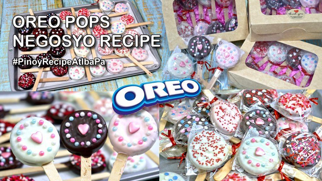 Oreo Pops for Valentine's Day