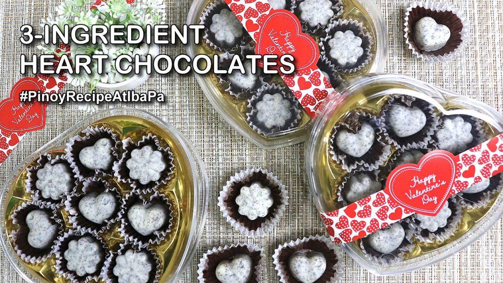3-Ingredient Heart Chocolates - YOUTUBE 2