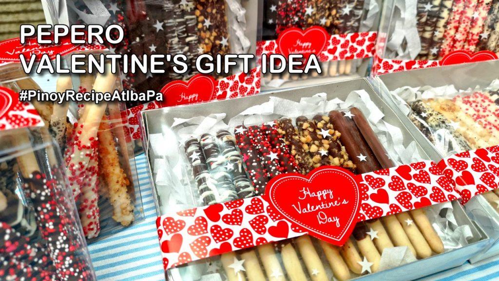 Pepero Valentine Gift Idea