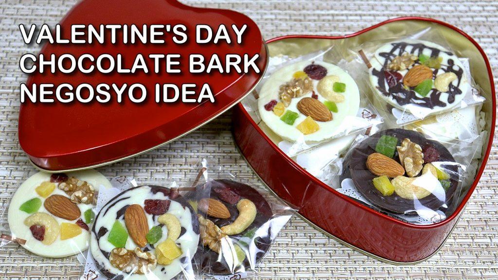 Valentines Chocolate Bark