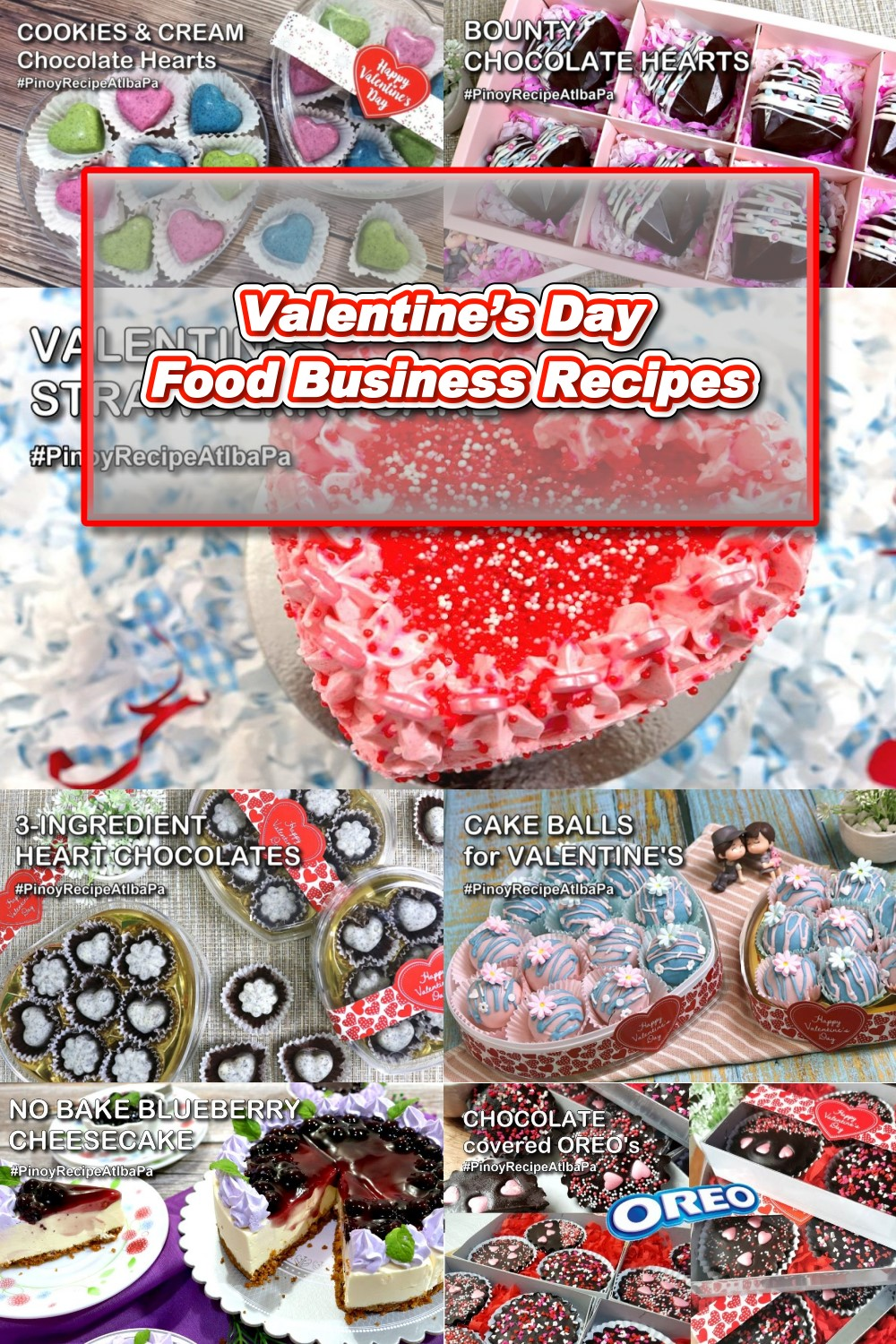 Valentine\'s Day Food Business Recipes