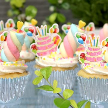 No Oven Birthday Cupcakes Recipe