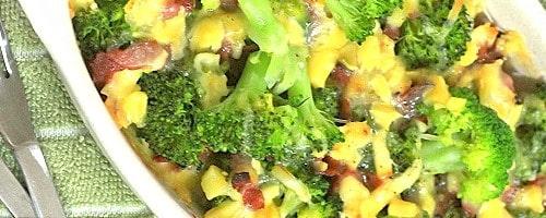 Healthy Bake Broccoli Recipe