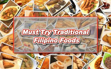 Must Try Traditional Filipino Foods