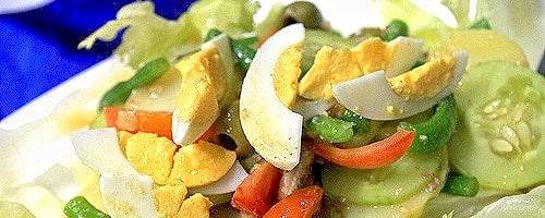 Spanish Bangus Salad Recipe