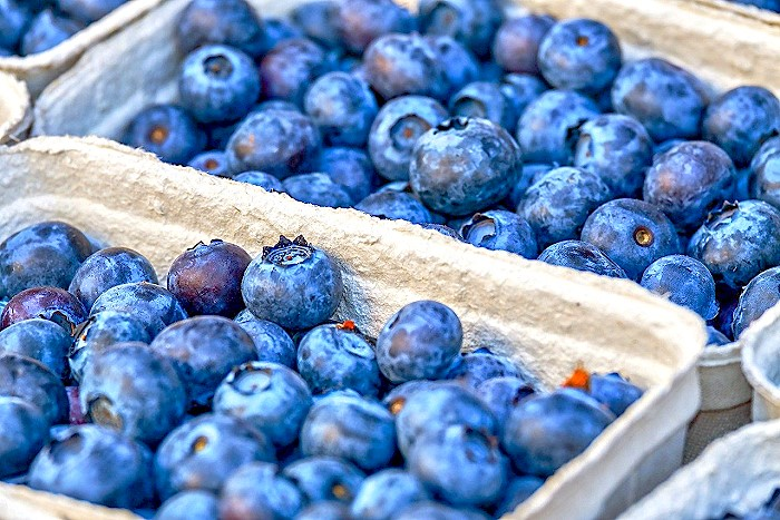 Blueberries helps boost your Immune System