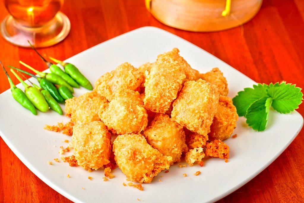 Crispy Air-Fried Spicy Tofu Recipe