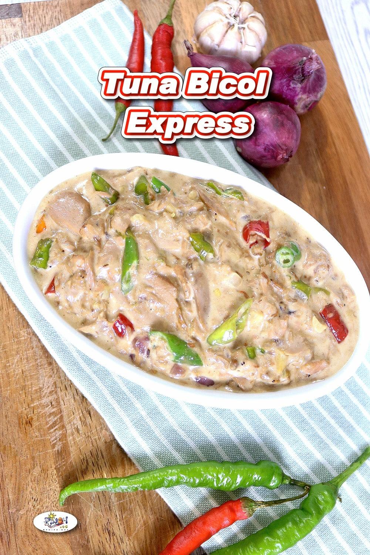 Tuna Bicol Express Recipe