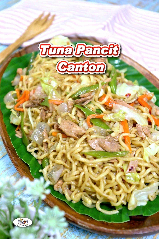 Tuna Pancit Canton Recipe