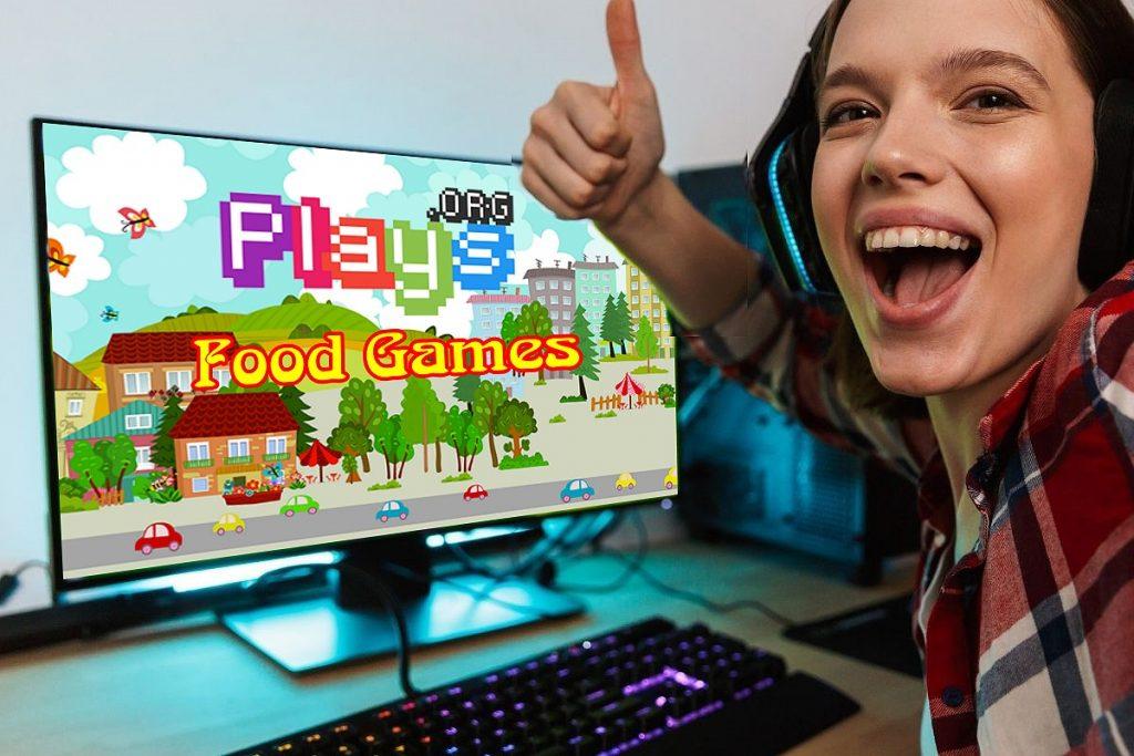 Plays dot Food Games