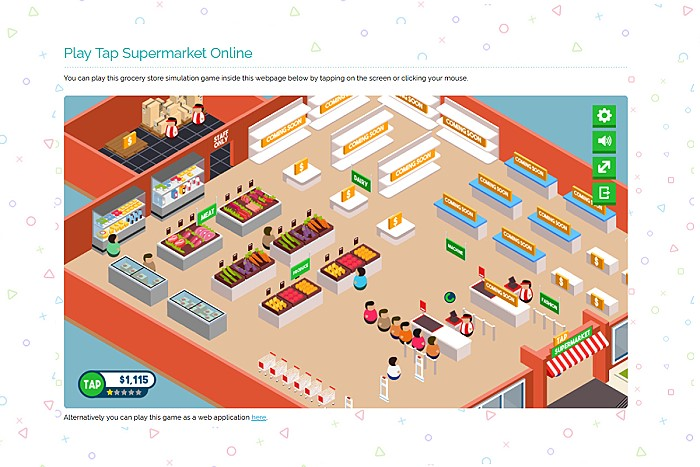 Tap Supermarket Grocery Store Simulation Game