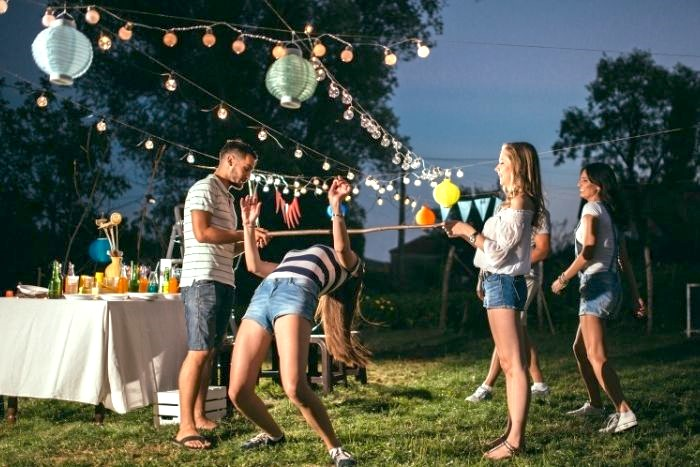 Outdoor Fall Party Entertainment