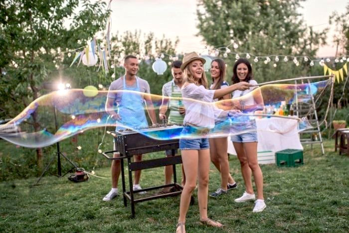 Outdoor Fall Party Games