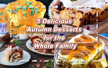 5 Delicious Autumn Desserts for the Whole Family